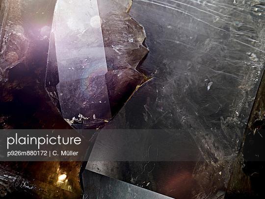 Bergkristall - p926m880172 von C. Müller