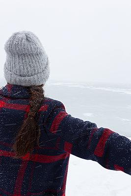Ich liebe den Winter - p454m2071798 von Lubitz + Dorner