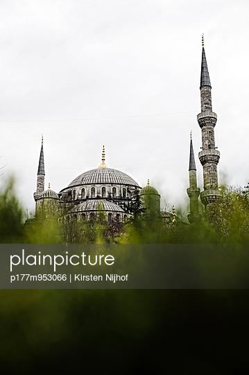 Süleymaniye-Moschee - p177m953066 von Kirsten Nijhof