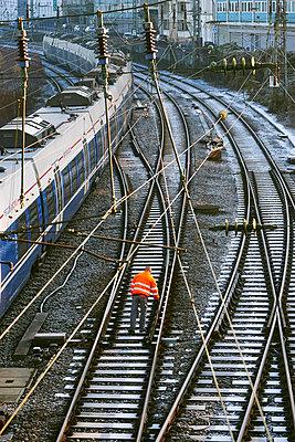 Schienenprüfung - p1164m1590064 von Uwe Schinkel