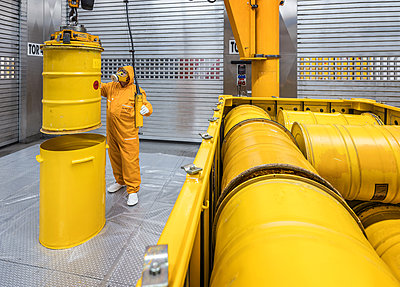 Nuclear waste disposal site  - p390m2063905 by Frank Herfort