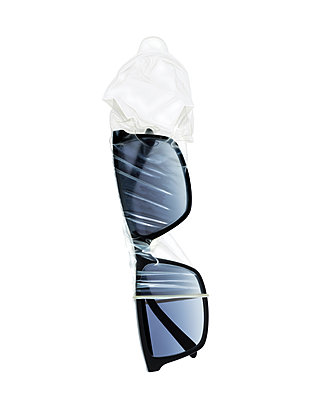 Sunglasses and condom - p710m2054463 by JH