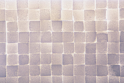 Wall of stacked sugar cubes - p1100m887983f by Paul Edmondson