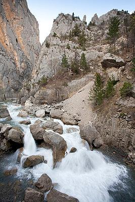 Mountain stream - p9480052 by Sibylle Pietrek