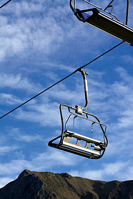 Chairlift - p813m956536 by B.Jaubert