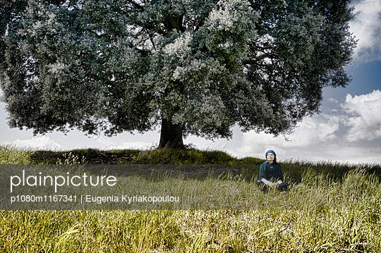 The tree 2 - p1080m1167341 by Eugenia Kyriakopoulou