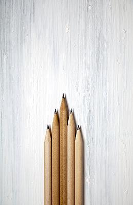 Sharpened pencils  - p1248m1538600 by miguel sobreira