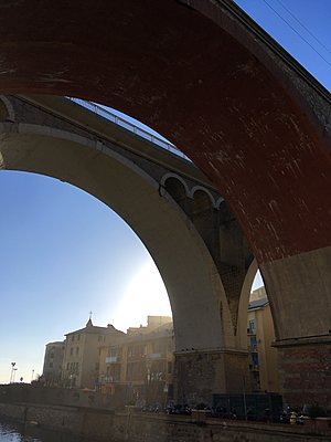 Brücken, Via Aurelia - p083m2089482 von Thomas Lemmler