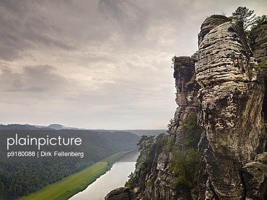 Elbe Sandstone Mountains - p9180088 by Dirk Fellenberg