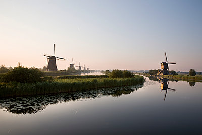 Dutch Windmills - p836m1444936 by Benjamin Rondel