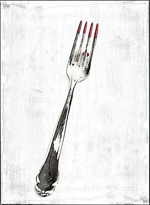 Old fork - p451m710208 by Anja Weber-Decker