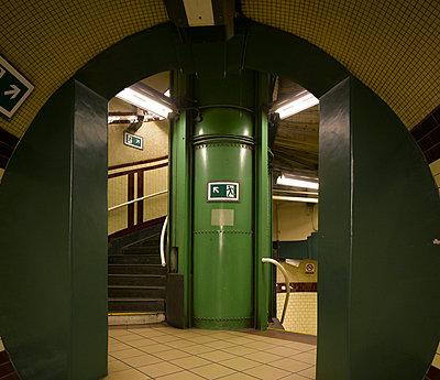 Edgware Road Underground Station, Edgware Road, London. - p8550925 by Richard Bryant
