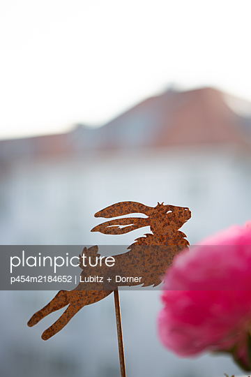 Bunny decoration - p454m2184652 by Lubitz + Dorner