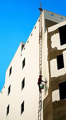 Geflickte Leiter - p7720020 von bellabellinsky