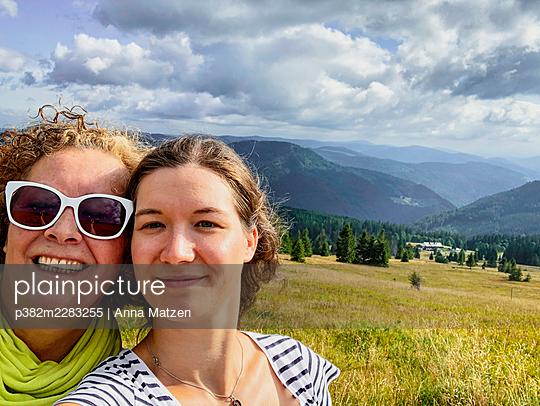 Selfie on the Feldberg - p382m2283255 by Anna Matzen