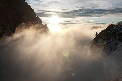 Sonnenuntergang in den Dolomiten - p470m1090557 von Ingrid Michel