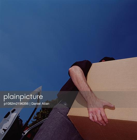 Delivering a parcel - p1082m2196356 by Daniel Allan
