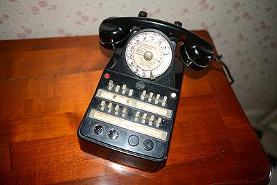 Old telephone - p1631m2280924 by Raphaël Lorand