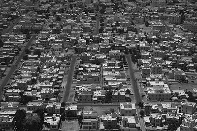 Kathmandu aus dem Flugzeugfenster - p1243m1525186 von Archer
