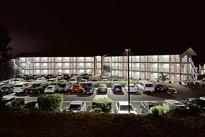 Parking area at night - p850m2026678 by FRABO