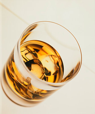 Glass with whiskey - p2681162 by Till Melchior