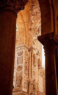 Interior of the Santissimo Salvatore Cathedral - p382m2196284 by Anna Matzen