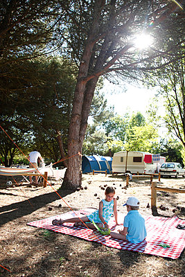 Camping site - p249m891184 by Ute Mans