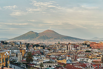Vesuvius Mountain and Naples - p968m2207459 by roberto pastrovicchio