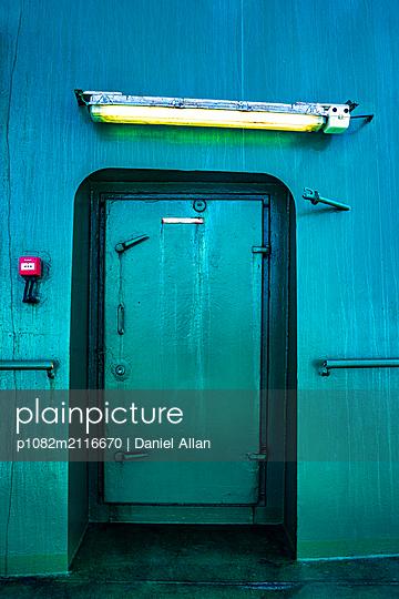 Green Door - p1082m2116670 by Daniel Allan