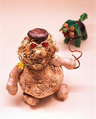 Gemüse-Mann - p1115m890252 von Nikolai Buroh