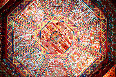 Decorated ceiling - p754m887018 by Valea Diller-El Khazrajy