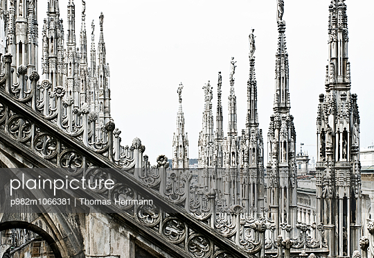 Cathedral of Milano - p982m1066381 by Thomas Herrmann