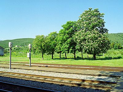 Ländlicher Bahnhof - p6060224 von Iris Friedrich