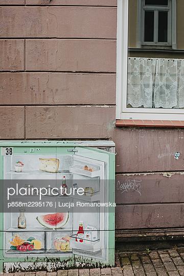 Streetart - p858m2295176 by Lucja Romanowska