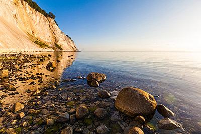 Denmark, Mon Island, Mons Klint, Chalk cliffs - p300m1166259 by Werner Dieterich