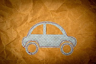 Little car - p451m2260382 by Anja Weber-Decker