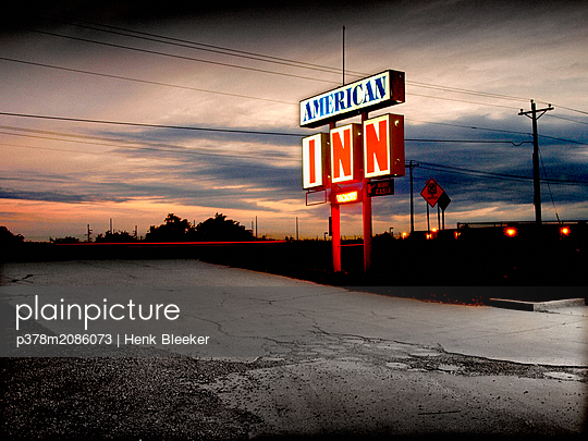 american in - p378m2086073 by Henk Bleeker
