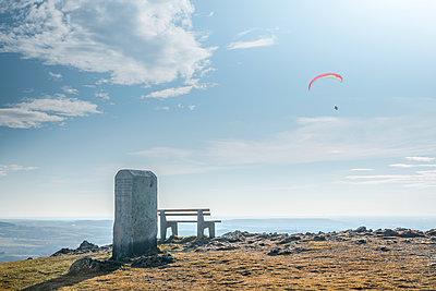 Paragliding - p1275m1423872 by cgimanufaktur