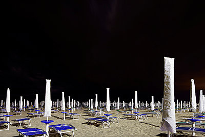 Beach at night - p719m715590 by Rudi Sebastian