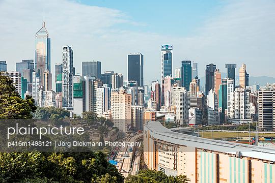 Hongkong - p416m1498121 von Jörg Dickmann Photography