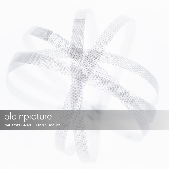 Plastic ribbon - p401m2264026 by Frank Baquet