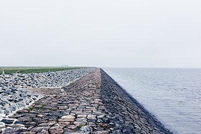 Grafischer Damm - p1085m876969 von David Carreno Hansen