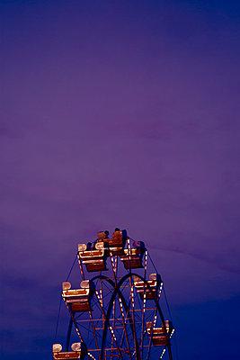 Ferris Wheel at Carnival - p1331m1169258 by Margie Hurwich