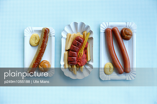 Currywurst - p249m1055188 by Ute Mans