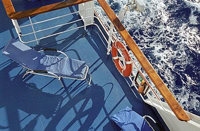 Auf dem Schiffsdeck - p3380176 von Marion Beckhäuser
