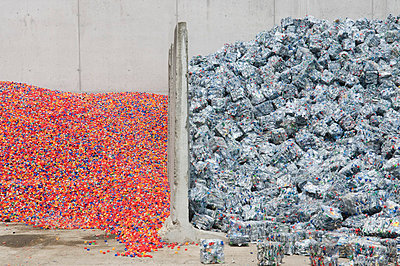 Recycling of plastic - p4510838 by Anja Weber-Decker