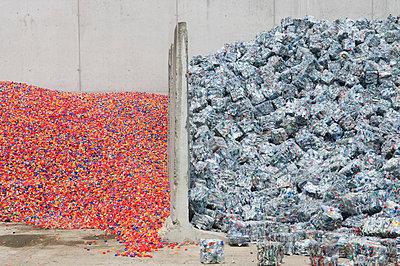 Plastikrecycling - p4510838 von Anja Weber-Decker