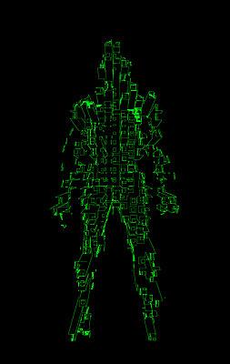 Cyber - 3D - p1028m2076326 by Jean Marmeisse