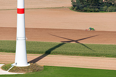 Agriculture and wind power - p1079m891216 by Ulrich Mertens