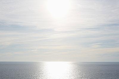 View of Ocean from Aquinnah Beach, Martha's Vineyard, Massachusetts, USA  - p694m2200722 by Maria K